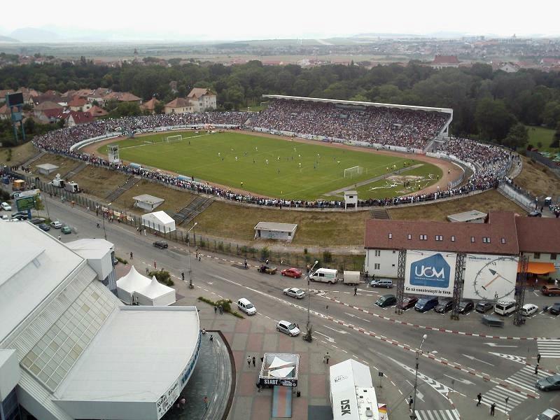 Stadion nu îşi mai desfăşoară activitatea niciun club de fotbal