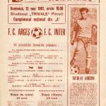 FC Argeş - Inter Sibiu 0-1, 12.05.1991, Divizia A