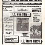 Inter Sibiu - FC Argeş 3-0, 10.09.1989, Divizia A
