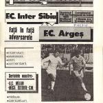Inter Sibiu - FC Argeş 4-0, 19.03.1989, Divizia A